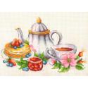 Чай с шиповником Набор для вышивания Многоцветница МКН 31-14