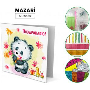 Поздравляю! Алмазная мозаика открытка своими руками Mazari M-10469