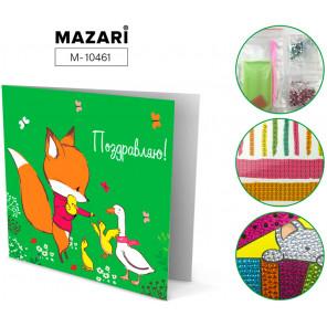 Поздравляю! Алмазная мозаика открытка своими руками Mazari M-10461