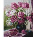 Мамины любимые цветы 40х50см Алмазная мозаика вышивка на подрамнике APK79031