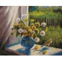 Время цветения одуванчиков 40х50см Алмазная мозаика вышивка на подрамнике APK79014
