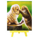 Игривые щенки Алмазная мозаика вышивка с мольбертом Mazari M-10333