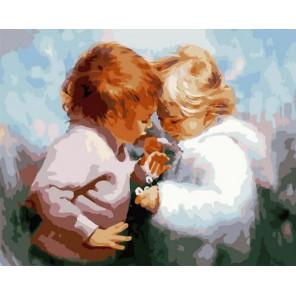 Детская невинность Раскраска картина по номерам на холсте GX37808
