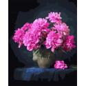 Букет пионов Раскраска картина по номерам на холсте GX37791