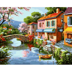 Удивительная Италия Раскраска картина по номерам на холсте GX37767