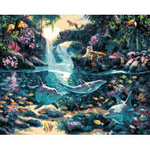 Удивительная дикая природа Раскраска картина по номерам на холсте GX37766