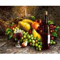 Многообразие фруктов Раскраска картина по номерам на холсте GX37598