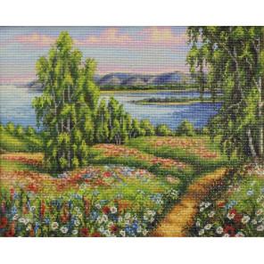 Сельский пейзаж Алмазная мозаика вышивка на подрамнике GF4537
