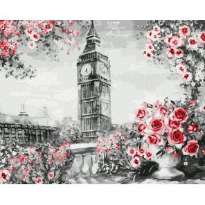Английский пейзаж Раскраска картина по номерам на холсте Molly KH0963
