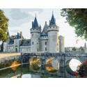 Каменный замок Раскраска картина по номерам на холсте ZX 23324