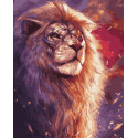 Король саванны Раскраска картина по номерам на холсте ZX 23310