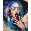 Нут. Milky Way Раскраска картина по номерам на холсте ZX 23379