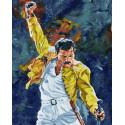 Фредди Меркьюри Раскраска картина по номерам на холсте ZX 23343