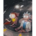 Рик и Морти Раскраска картина по номерам на холсте ZX 23286