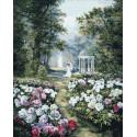 Сад в лесу Раскраска картина по номерам на холсте ZX 23372