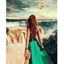 Игуасу. Бразилия Раскраска картина по номерам на холсте ZX 20414