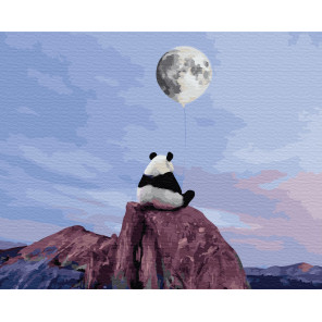 Лунные мечты Раскраска картина по номерам на холсте ZX 23872
