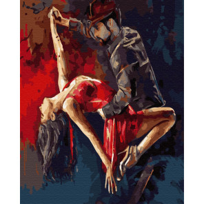 Милонгеро Раскраска картина по номерам на холсте ZX 23779
