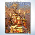 Золотые купола Раскраска картина по номерам на холсте Hobbart DZ4050025-LITE