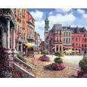 Шарлеруа. Бельгия Раскраска картина по номерам на холсте 629-AB