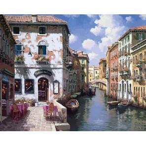 Венецианские дома Раскраска картина по номерам на холсте 631-AB