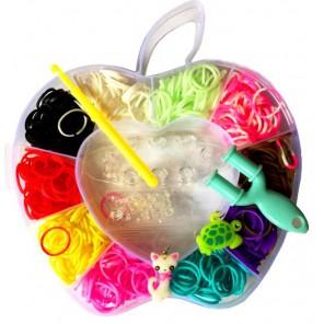 Яблоко Набор для плетения из резинок