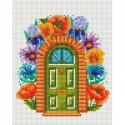 Сказочная дверь Алмазная мозаика на подрамнике 578-ST-S