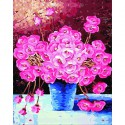 Миллион алых роз Раскраска по номерам на холсте Menglei