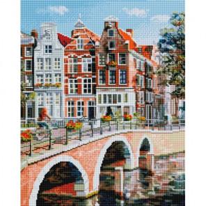 Императорский канал в Амстердаме Алмазная мозаика на подрамнике 563-ST-S
