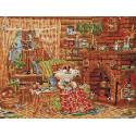 Домашняя идиллия 30х40 см Алмазная мозаика на подрамнике ACPK76003