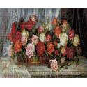 Розы (Дандорф Ольга) 40х50 см Алмазная мозаика на подрамнике APK59014