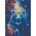 Большая медведица Алмазная вышивка мозаика Риолис АМ0050