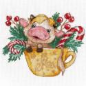 Бычок 3. Символ года Набор для вышивания Овен 1343
