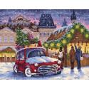 Рождественская ярмарка Алмазная вышивка мозаика BrilliArt МС-007