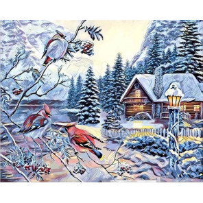 Сказочный лес Алмазная вышивка мозаика Алмазное Хобби AH5468