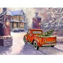 Приближение рождества Алмазная вышивка мозаика Алмазное Хобби AH5479