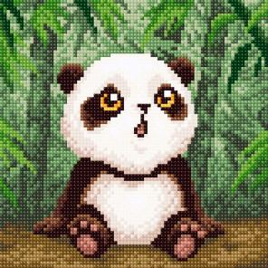 Малыш-панда Алмазная вышивка мозаика BrilliArt МС-001