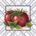 Спелый томат Алмазная вышивка мозаика BrilliArt МС-013
