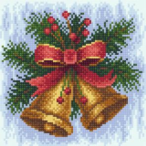 Новогодняя мелодия Алмазная вышивка мозаика BrilliArt МС-024