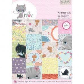 Little Meow А5 Набор бумаги для скрапбукинга, кардмейкинга Docrafts