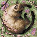 В тени сакуры Алмазная вышивка мозаика BrilliArt МС-042
