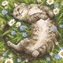 Ромашковое лето Алмазная вышивка мозаика BrilliArt МС-044