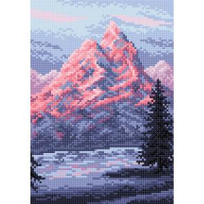 Эверест Алмазная вышивка мозаика BrilliArt МС-046