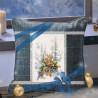 Пример вышитой работы Дух зимнего леса Набор для вышивания Чудесная игла 200-017