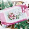 Пример вышитой работы Рождественское настроение Набор для вышивания Чудесная игла 100-244