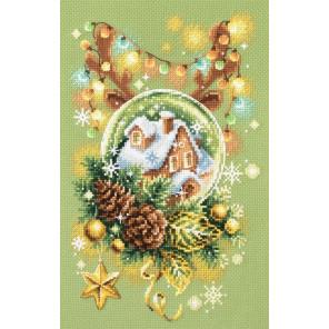 Светлое рождество Набор для вышивания Чудесная игла 100-245