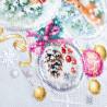 Пример вышитой работы Рождественская сказка Набор для вышивания Чудесная игла 100-247