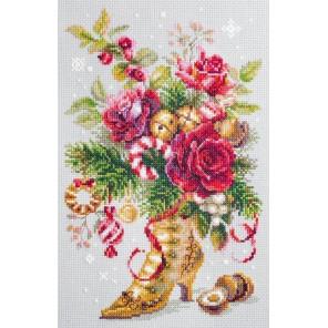 Рождественский сюрприз Набор для вышивания Чудесная игла 100-270
