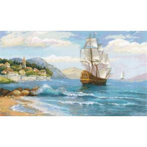 К далеким берегам Набор для вышивания Риолис 1900