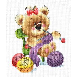 Мишкино рукоделие. Вязание Набор для вышивания Многоцветница МКН 38-14